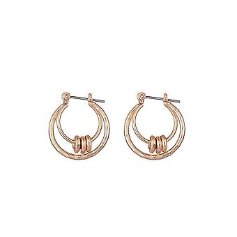 Jewelcity Sunkissed Womens/Ladies Hoops And Discs Earrings