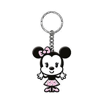 PVC Key Chain - Disney - Cute Minnie Mouse Soft Touch Keyring