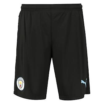 2019-2020 Manchester City Shorts d'entraînement avec Zip Pockets (Noir)