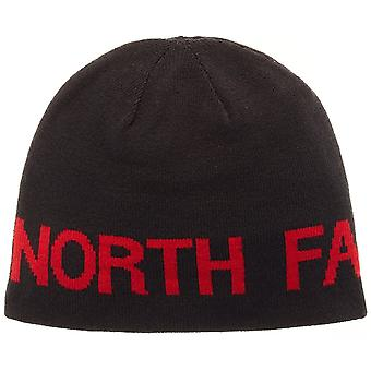 Il North Face Black/red Reversible TNF Banner Beanie