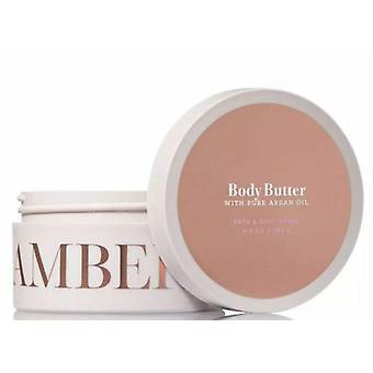 Bain et corps travaille Ambre et Argan Body Butter 6,5 oz / 185 g