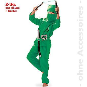 Ninja costume child karate fighter Ninjakostüm child costume
