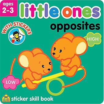 Little Ones Sticker Skill Book-Opposites SZLOSSB-06426