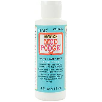 Mod Podge Paper Matte Finish 4 Ounces Cs11235