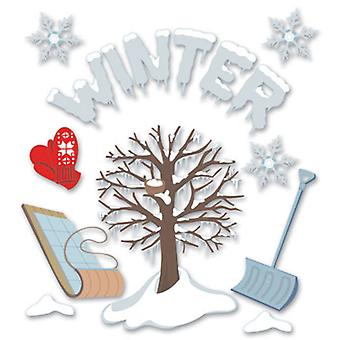 Jolee's Boutique Dimensional Stickers Winter Spjb 482