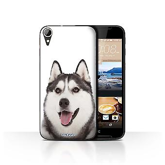 STUFF4 Case/Cover for HTC Desire 830/Husky/Dog Breeds