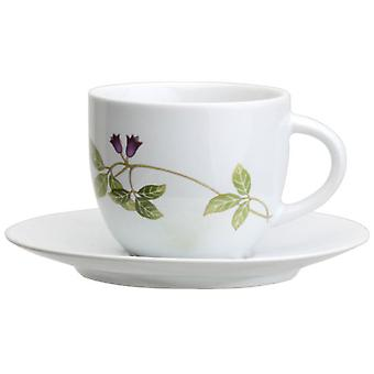 Avet Coffee Tea With Plate Set of 6