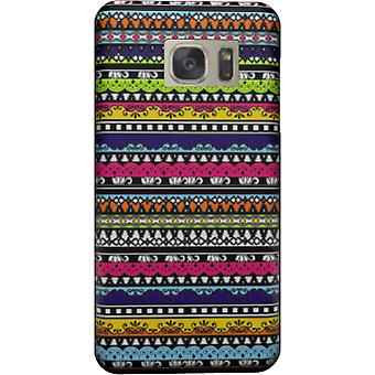 Tribal colors cover for Galaxy S7 Edge