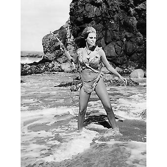 One Million Years BC Raquel Welch 1966 Photo Print
