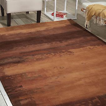 Calvin Klein Luster Wash Rugs Sw09 Copper
