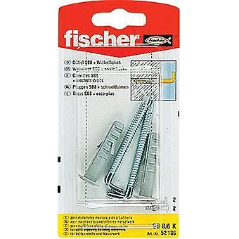 Spring toggle Fischer 40 mm 8 mm 52186 2 pc(s)