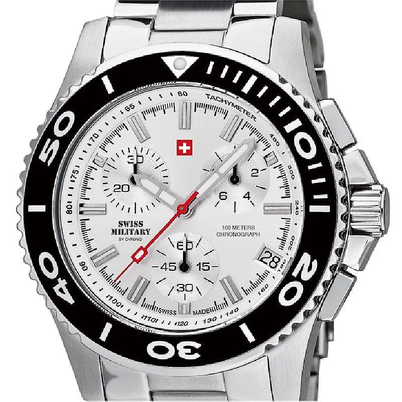 Swiss Military by Chrono Mens clock 20084ST-2M