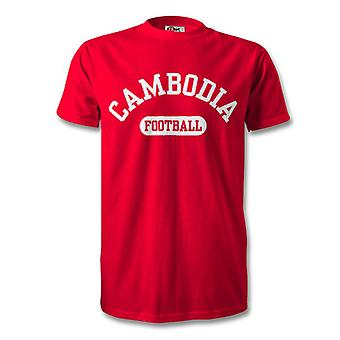 T-Shirt de Football au Cambodge