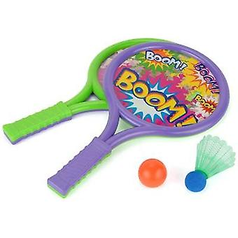 Toyrific Boom Bats Set With Ball & Shuttlecock