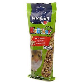 Vitakraft Krõcker «Hamster fruits-flocons 2 Pack (Pack de 5)