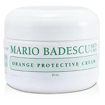 Mario Badescu Orange Protective Cream - For Combination/ Dry/ Sensitive Skin Types - 29ml/1oz