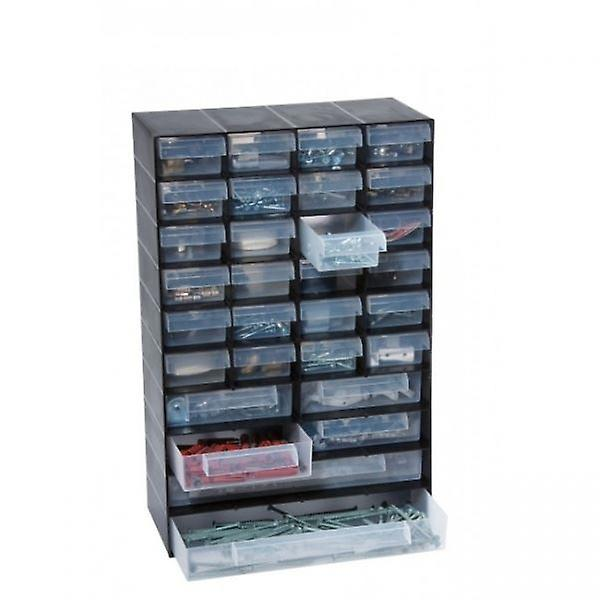 30 Multi Drawer Plastic Storage Cabinet Home, Garage or Shed