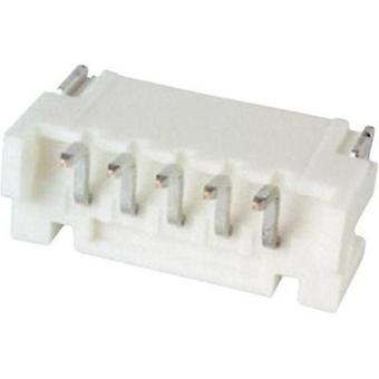 Built-in pin strip (standard) PH Total number of pins 5 JST S5B-PH-SM4-TB (LF)(SN) Contact spacing: 2 mm 1 pc(s)