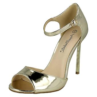 Ladies Anne Michelle Peep Toe Sandals F10556