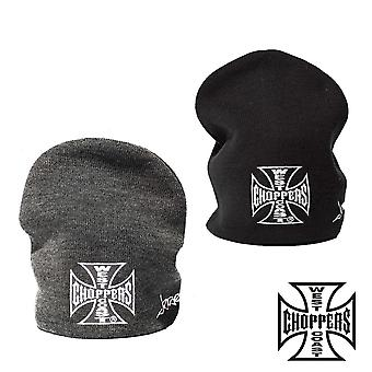West Coast Choppers Beanie Iron Cross Basic