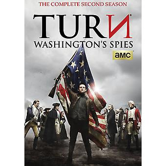 Kolej: Waszyngtona szpiegów: import USA sezon 2 [Płyta DVD]