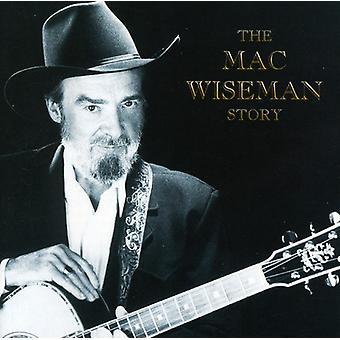 Mac Wiseman - importación USA Mac Wiseman historia [CD]