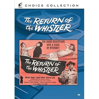 Return of the Whistler [DVD] USA import