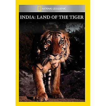 India: Land van de tijger [DVD] USA importeren