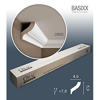 ORAC decor CB502 BASIXX 1 box SET with 10 crown moldings corner strips | 20 m