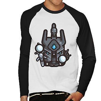 Simpler Athras Warcraft Men's Baseball Long Sleeved T-Shirt