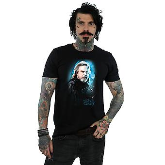 Star Wars Men's The Last Jedi Luke Skywalker Brushed T-Shirt