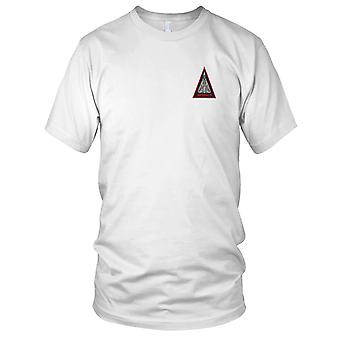 US Navy VF-301 Triangle Embroidered Patch - F-14 Infernos Ladies T Shirt