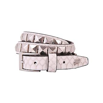 Lowlife Single Stud Leather Belt