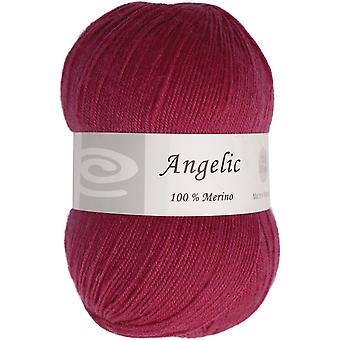 Angelic Yarn Eggplant Purple Q105 F804