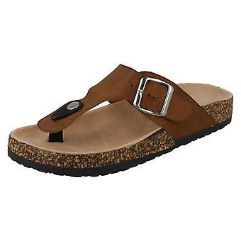 Kvinnors plats på Toepost sandaler
