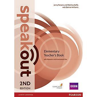 Guide pédagogique – speakout élémentaire 2e édition avec pochette de disque d'évaluation par Jenny Parsons & Matthew Duffy