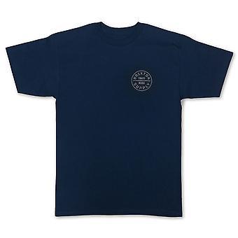Brixton Oath T-Shirt Blue