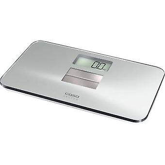Digital bathroom scales CASO body solar Spiegelglas Weight range=150 kg