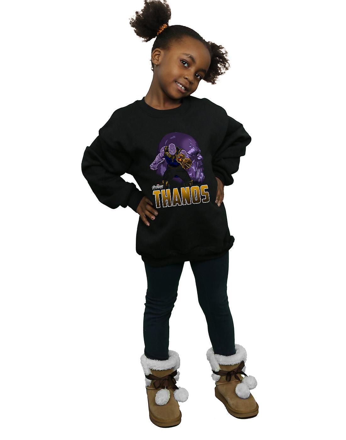 Merveille filles Vengeurs Infinity War Thanos caractère Sweatshirt