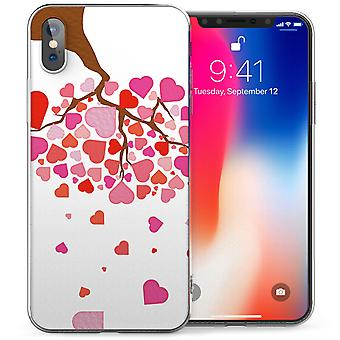 iPhone X дерево из любовь гель ТПУ