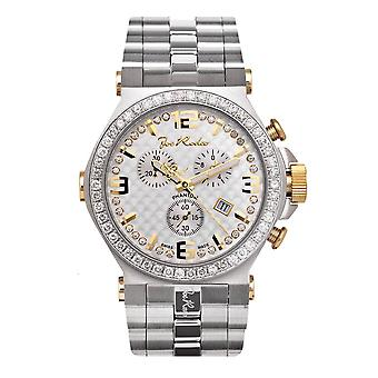 Joe Rodeo diamond men's watch - PHANTOM Silver 3.25 ctw