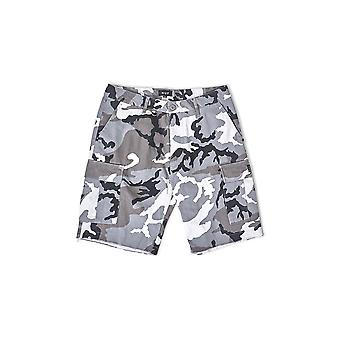 HUF Standard Issue Cargo Short White Camouflage