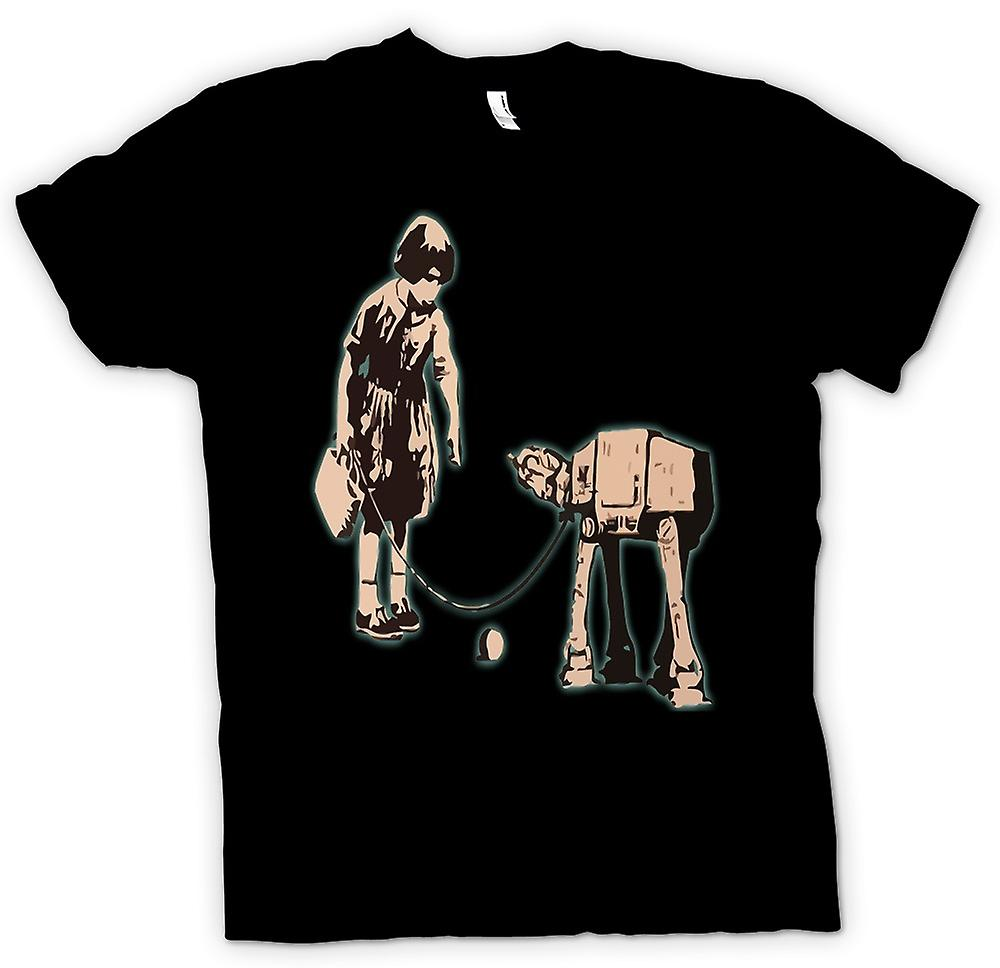 T-shirt - Banksy Graffiti Art - Fetch
