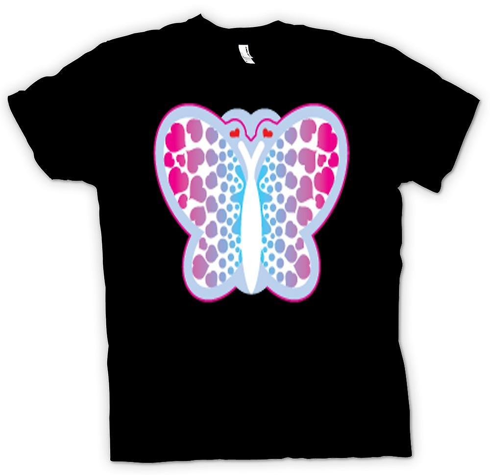 Kids T-shirt - Butterfly with Hearts