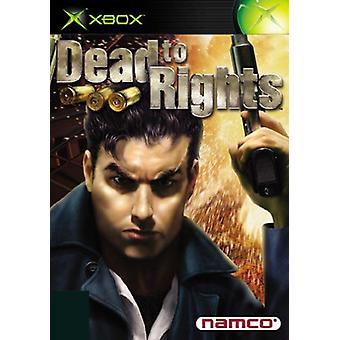 Död för rättigheter (Xbox)