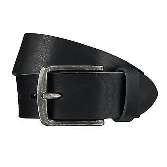 LLOYD Men's belt belts men's belts leather belt black 4028