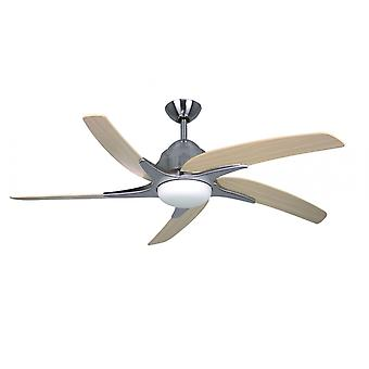 Ceiling fan Viper Plus Steel with LED 112 cm / 44