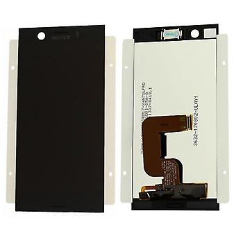 Sony display LCD complete unit for Xperia XZ1 dual G8342 black spare parts new