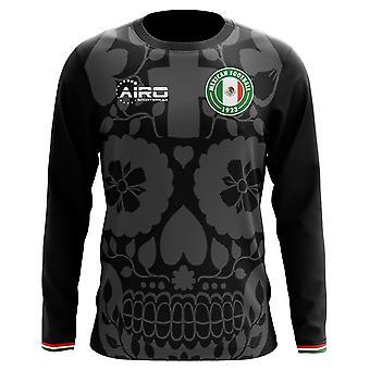 2018-2019 المكسيك الأكمام الطويلة الثالثة مفهوم كرة القدم قميص