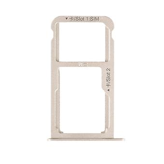 For Huawei P9 Plus SIM-kortet bakke - guld